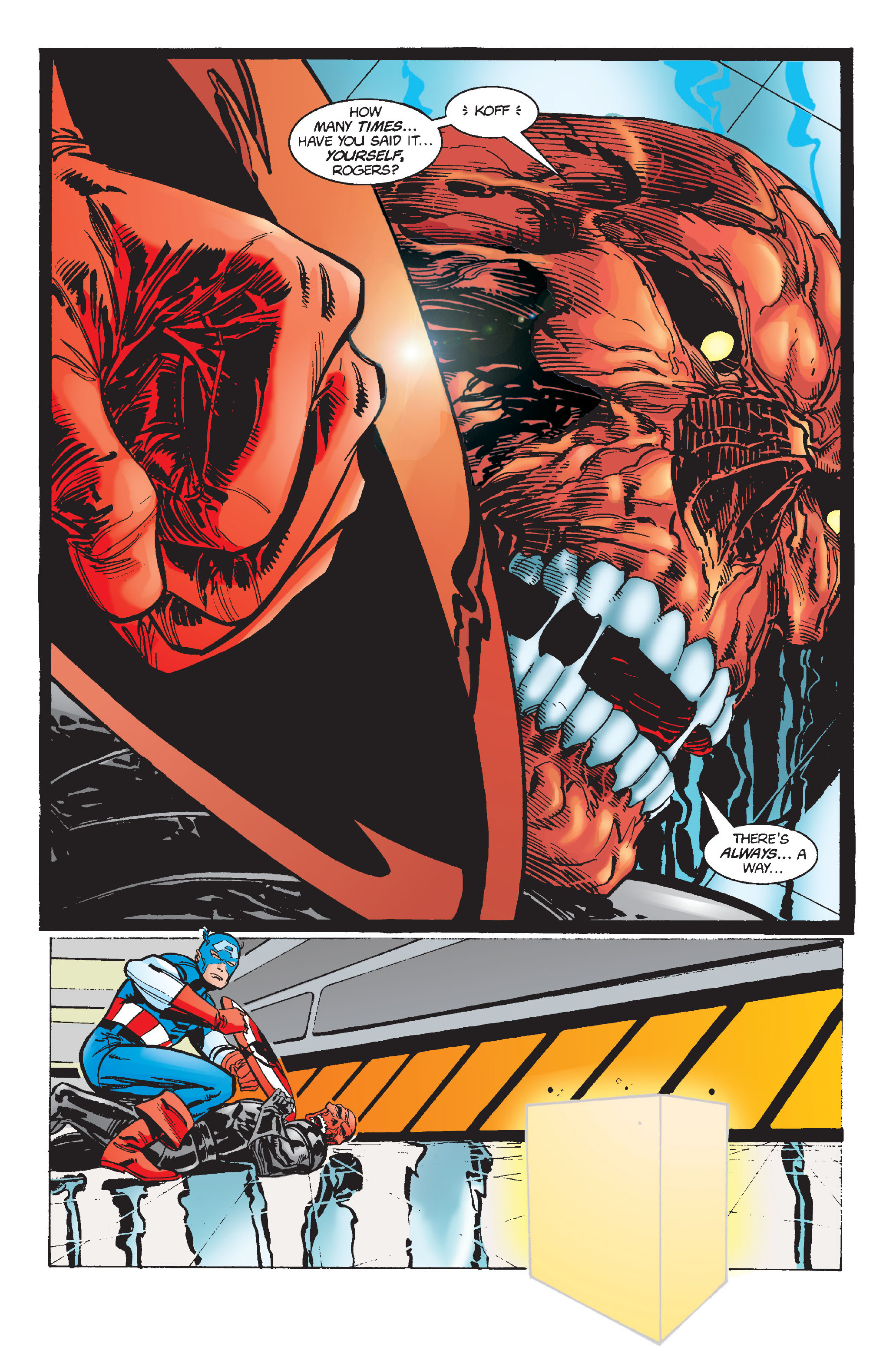 Captain America (1968) Issue #448 #402 - English 32