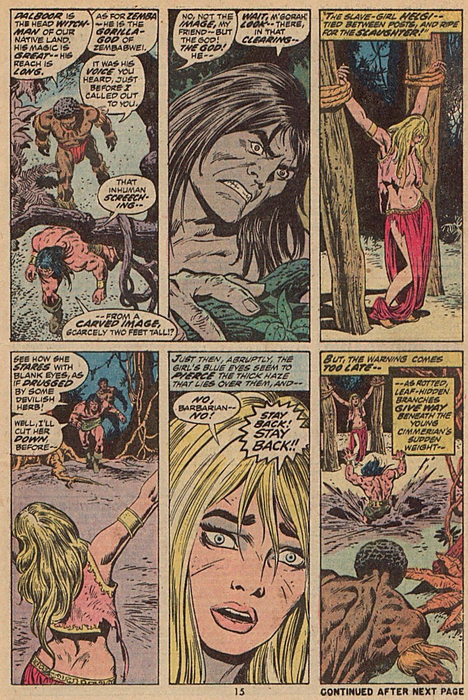 Conan the Barbarian (1970) Issue #28 #40 - English 12