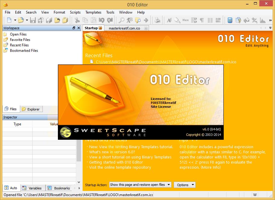 010 Editor 6.0