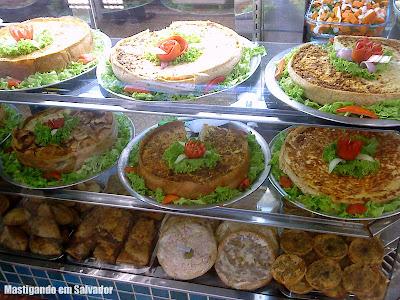 Rafigos: Vitrine de Tortas, Pizzas e Salgados