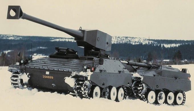 UDES XX20 Tank Destroyer on Snow