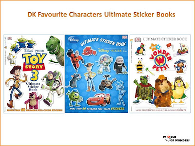 World Of Wonders Dk Favourite Characters Ultimate Sticker border=