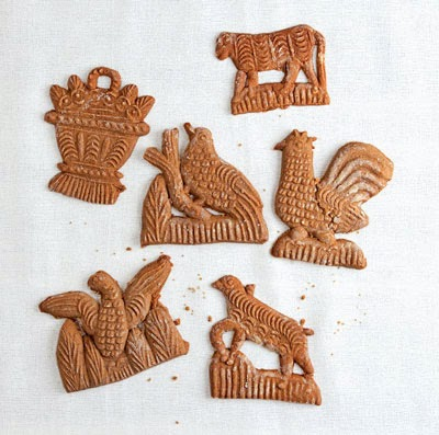 Speculaas (Molded Ginger Cookies) from the Netherlands and Belgium