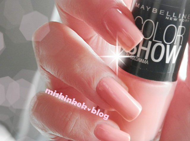 maybelline color show oje peach smoothie