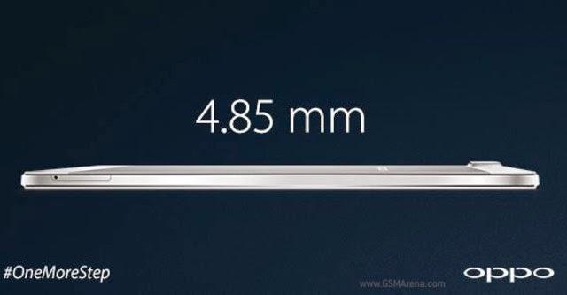 Oppo R5 mỏng nhất thế giới hiện nay chính thức ra mắt