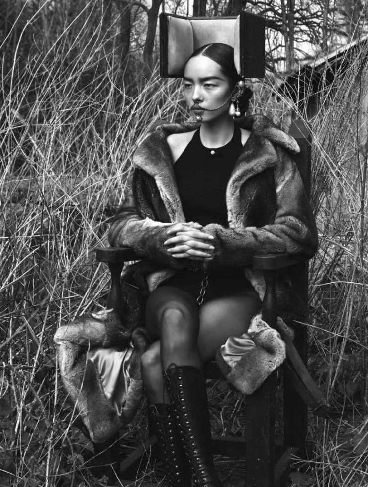 Fei Fei Sun by Mert Alas & Marcus Piggott and Katy England for Vogue Italia June 2015 | Ses Rêveries