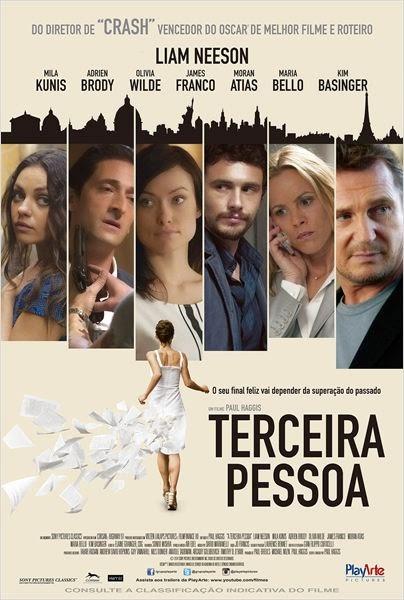"""Poster do filme """"Terceira Pessoa"""""""