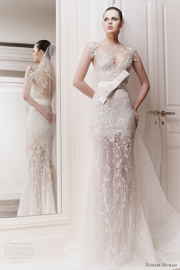 Fashion mania wedding dresses 2012 13 for Zuhair murad wedding dress