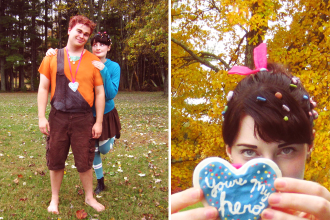Homemade Halloween costumes - Wreck-It Ralph, Vanellope