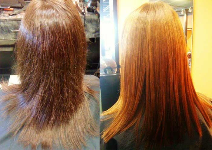 Brazilian Keratin Hair Treatment Before And After