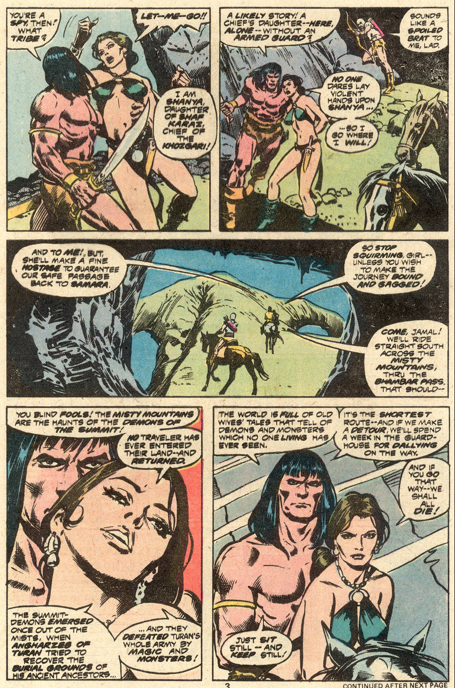 Conan the Barbarian (1970) Issue #87 #99 - English 4