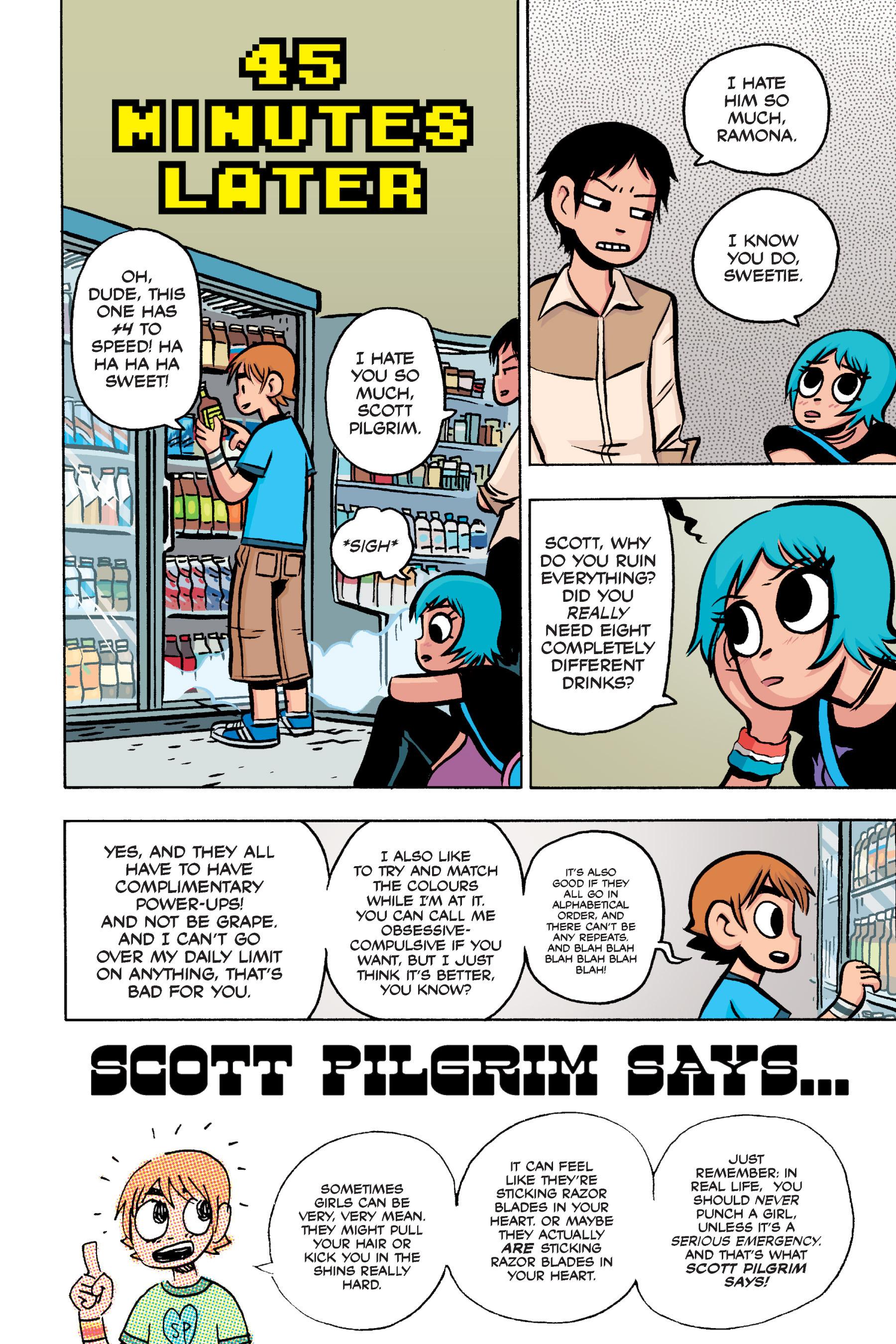 Read online Scott Pilgrim comic -  Issue #3 - 194