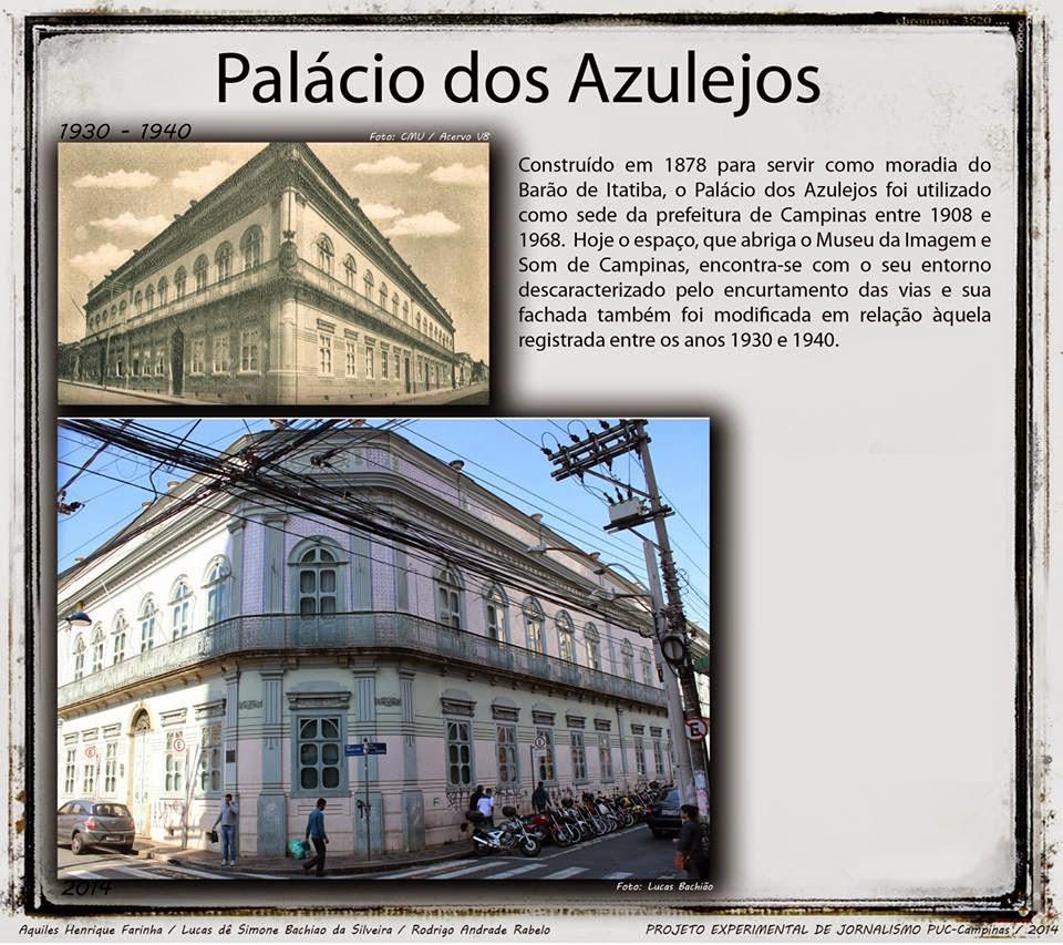 Palácio dos Azulejos - Campinas