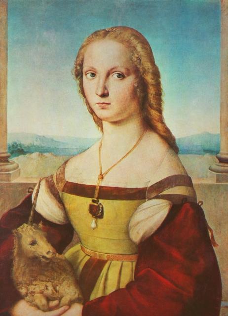 Giulia farnese portrait