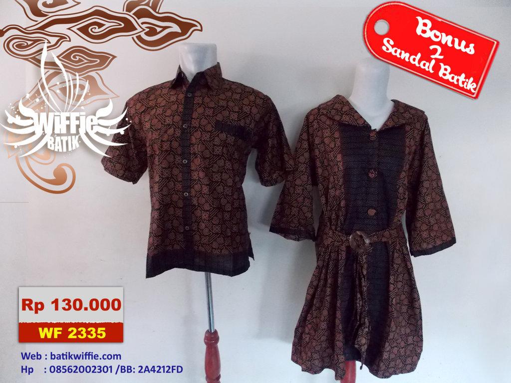 Sarimbit Batik Modern Griya Couple Jual Baju T Shirt Rp 130000