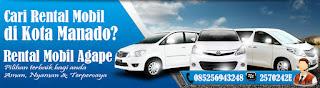 Sewa Mobil Manado Agape