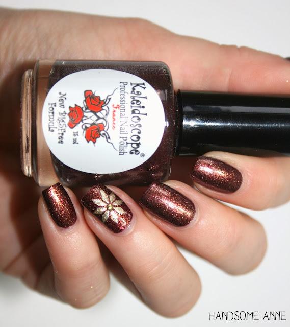Svenjas Nail Art - Weihnachtsstern