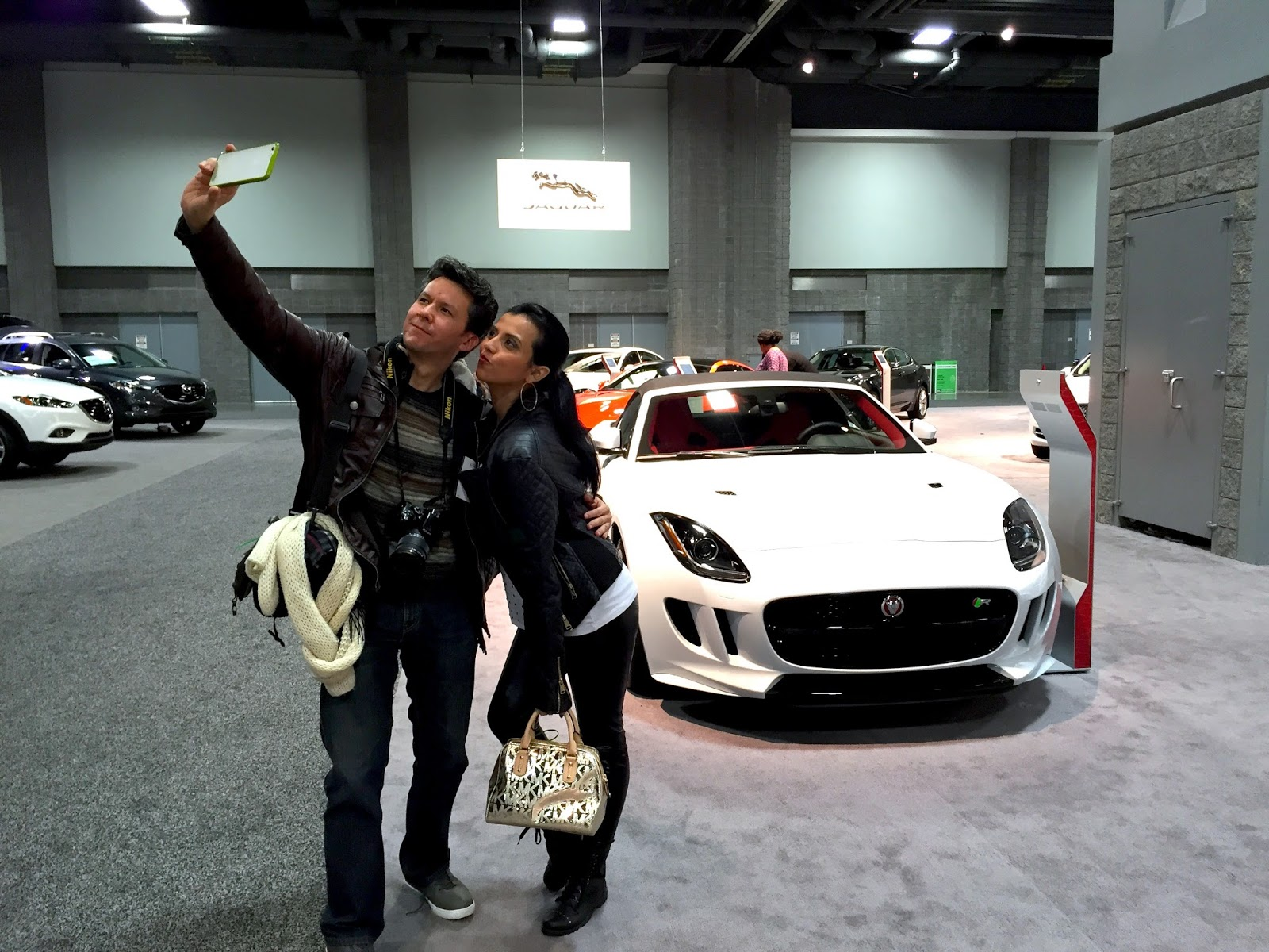 Rockin at The Washington Auto Show