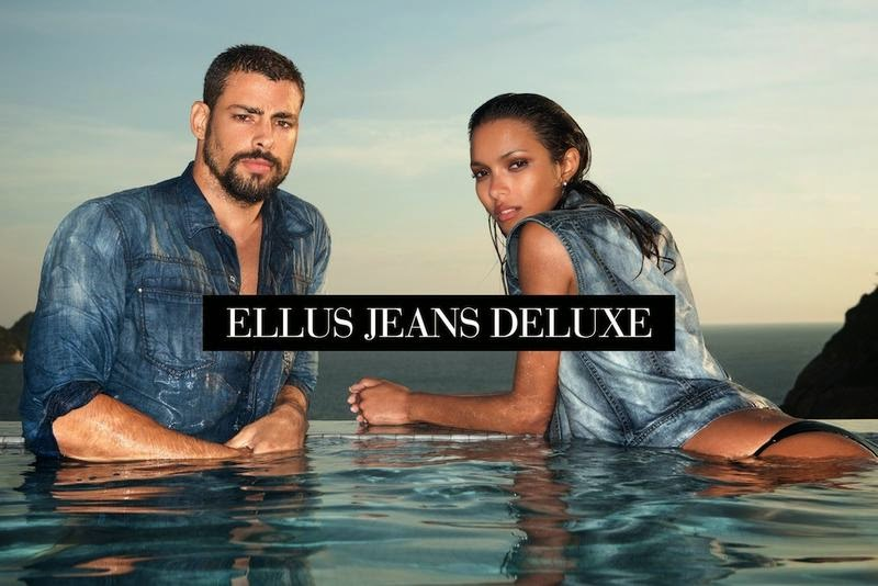 Ellus Jeans Deluxe Spring Summer 2015 Ad Campaign