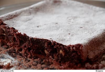 Fotografia di dolce, il brownie