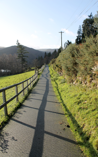 Glendalough hiking route