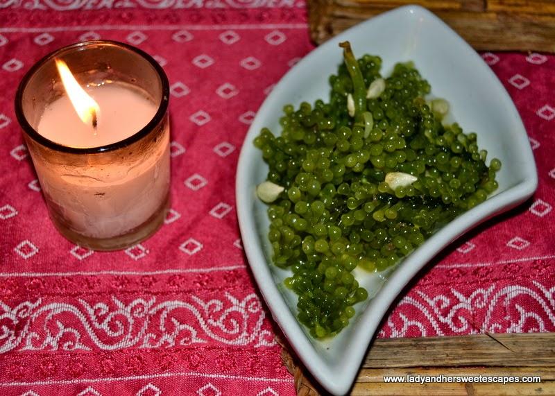 KaLui restaurant's seaweed salad