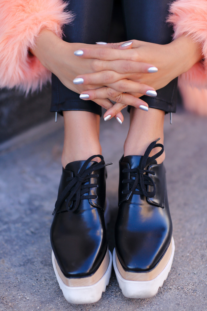 STELLA MCCARTNEY black Britt shoes