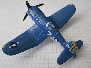 avión azul de la película Aviones de Disney