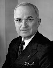 HARRY TRUMAN - 33RD U.S. PRESIDENT - (1884-1972)