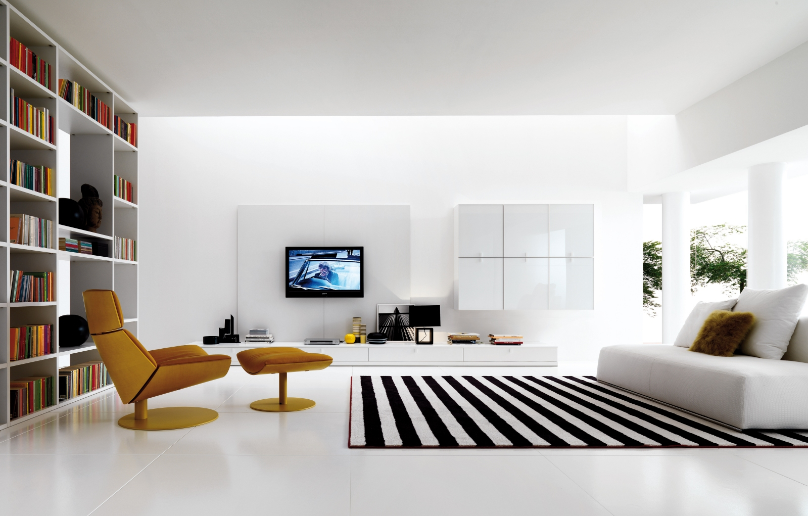 Home interior design living room simple home decoration for Modern minimalist living room