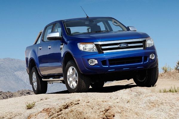 novo Ford Ranger 2014 dianteira