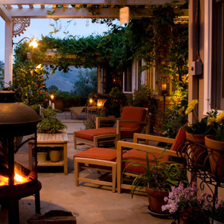 landscape design ideas outdoor deck decor for summer
