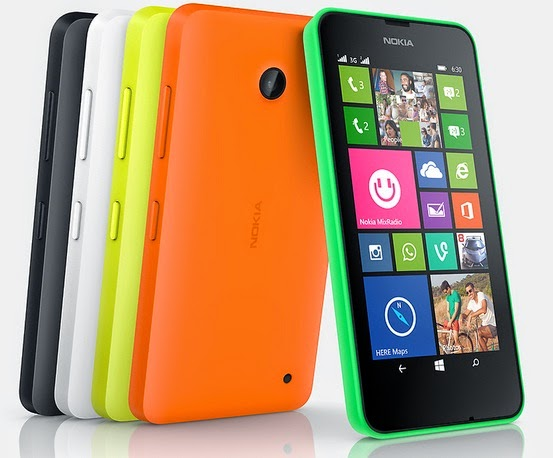 Nokia Lumia 630 Dual SIM Windows Phone Murah Rp 1.9 jutaan