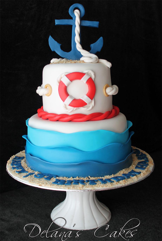 Delana S Cakes Sailing Themed Cakes