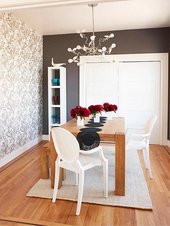 Foyer Wallpaper Kenya : Parede marrom decoração e invenção