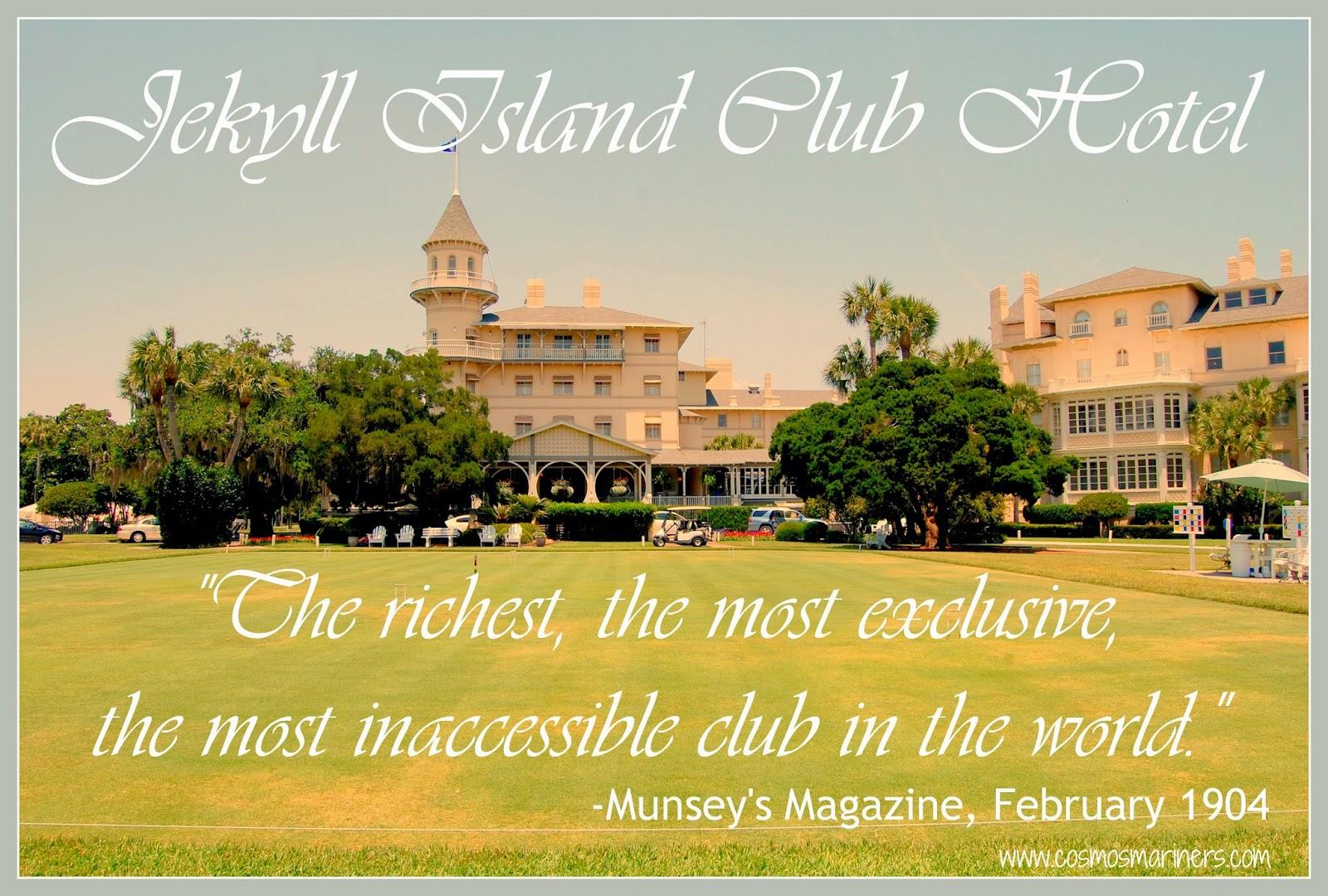 Jekyll Island Hotel Club, Jekyll Island, Georgia