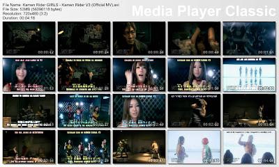 Kamen Rider GIRLS - Kamen Rider V3 PV