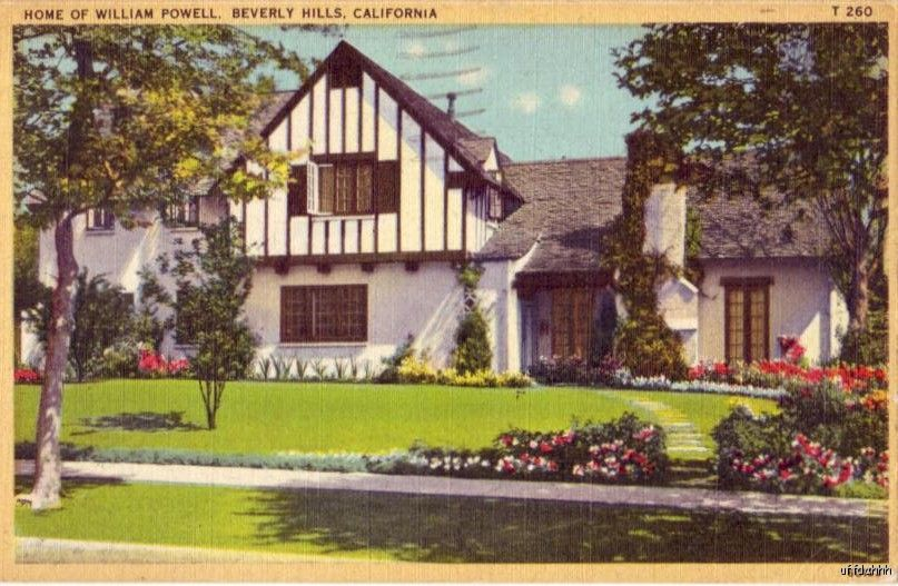 And scene william powell 39 s beverly hills home for Powell homes