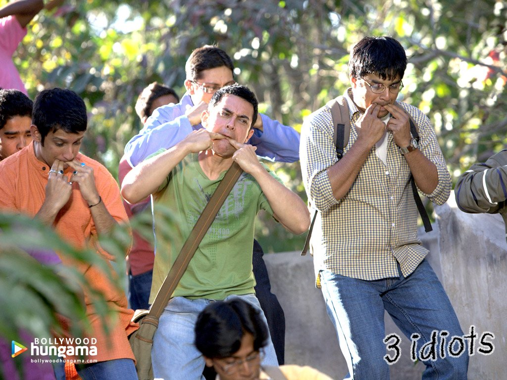 Aamir Khan 3 Idiots Wallpapers