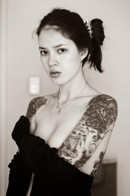 Cute Tattoo Photography by Ira Chernova
