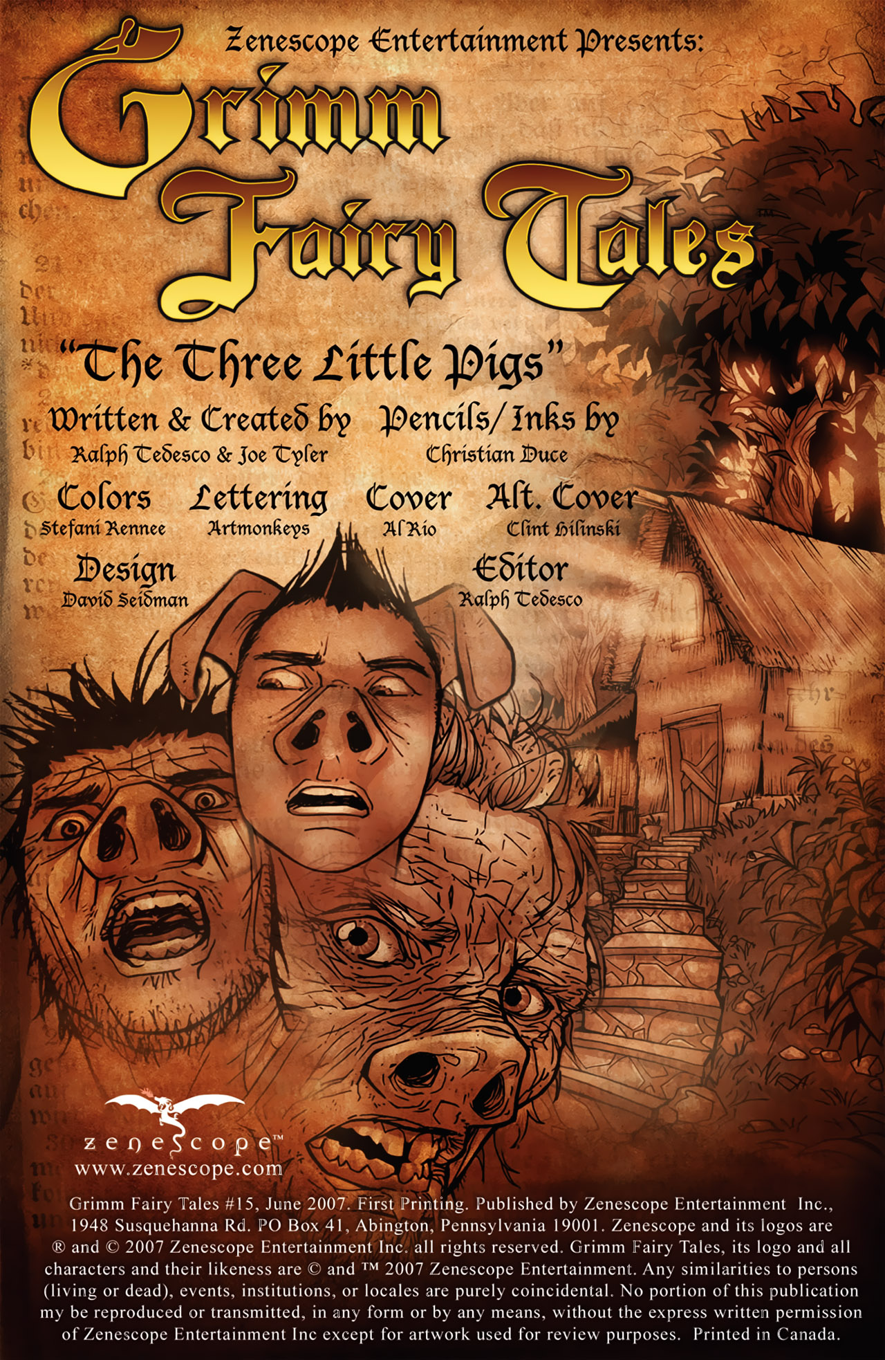 Grimm Fairy Tales (2005) Issue #15 #18 - English 2