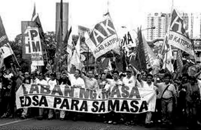 edsa revolution In commemorating this historical day, let us throwback and listen to the anthems of edsa revolution.