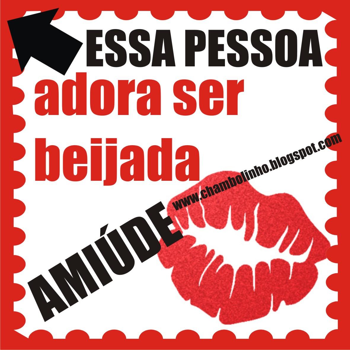 Mensagens de Beijos para Facebook