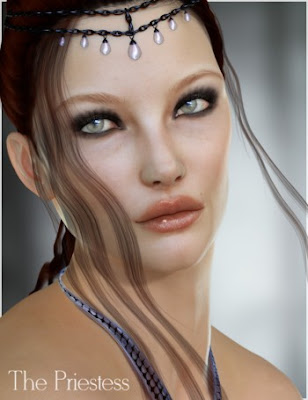 DAZ 3D - The Priestess V4 and Genesis