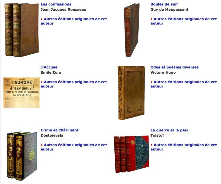 abebooks livres anciens