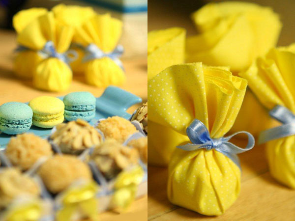 decoracao azul e amarelo para cha de bebe:Yellow Baby Shower