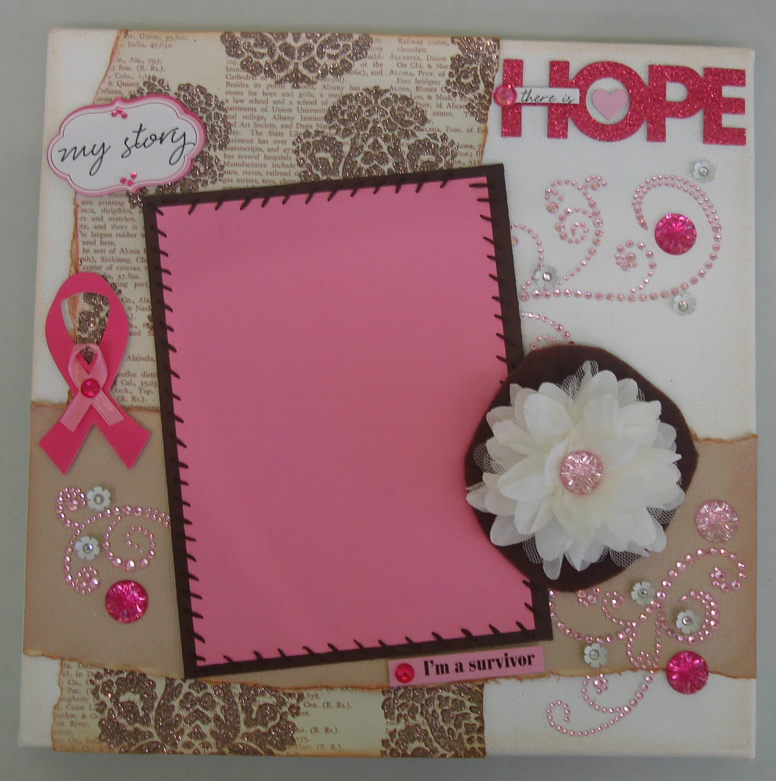 scrap it girl 12x12 canvas scrapbook pages texture wow classes at