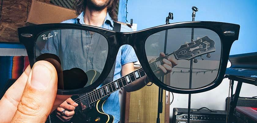 pegatina ray ban para gafas