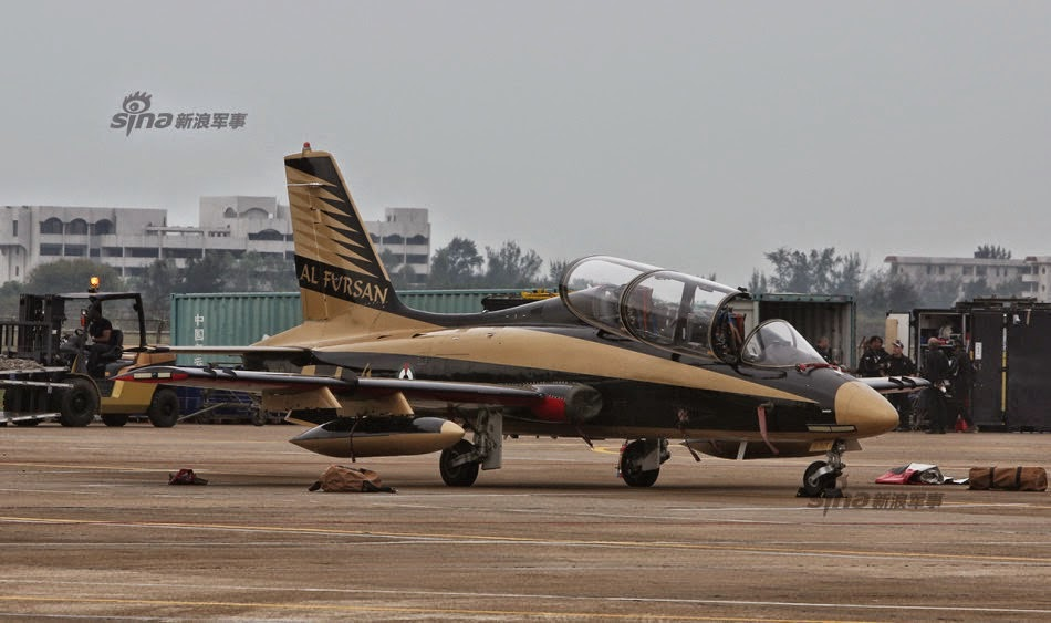 UAE AL Fursan At Zhuhai Air Show 2014