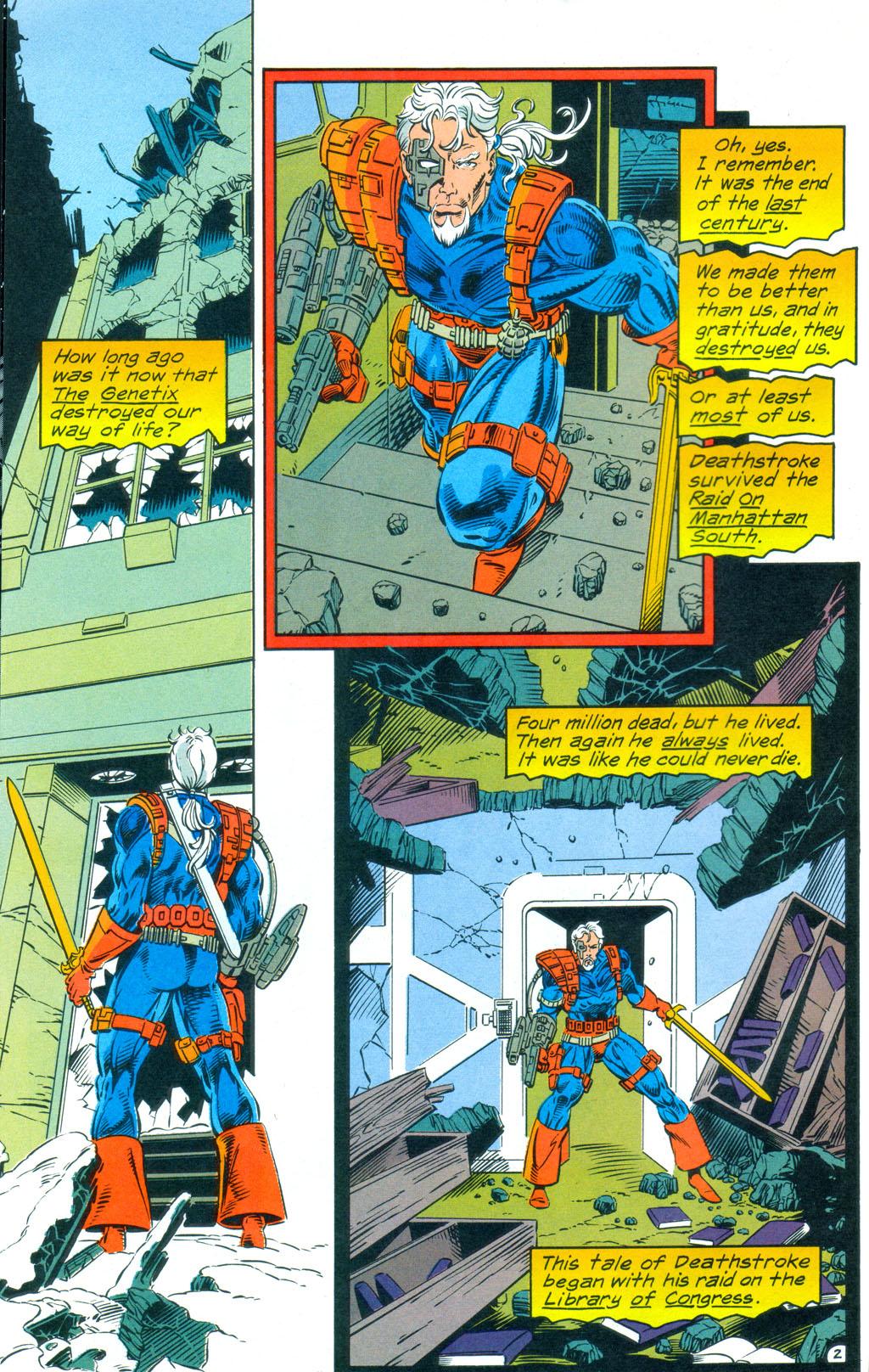 Deathstroke (1991) Annual 3 #3 - English 3